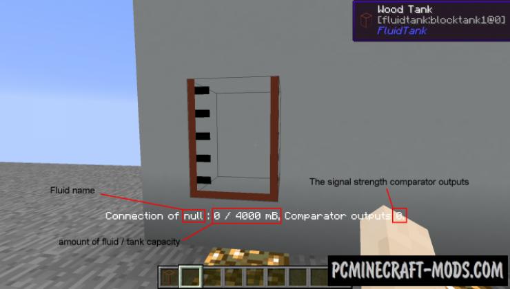 Large Fluid Tank Mod For Minecraft 1.13.2, 1.12.2