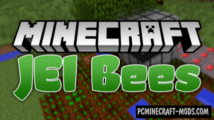 JEI Bees Mod For Minecraft 1.12.2, 1.11.2, 1.10.2