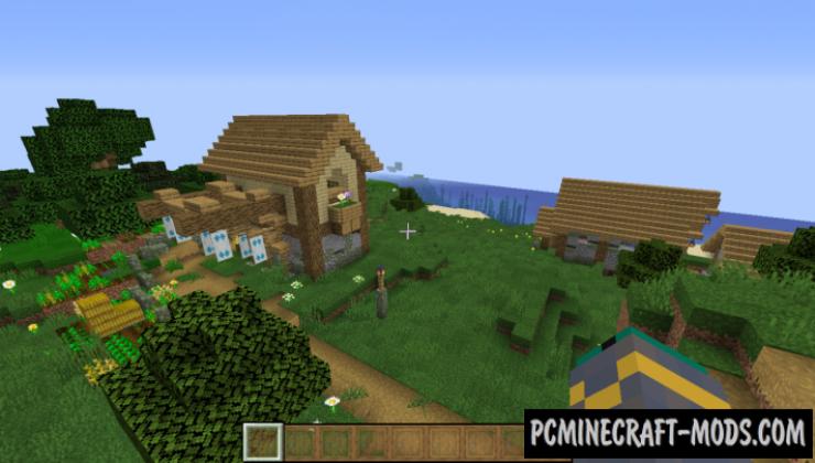 Improved Plains Village Structures Data Pack For Minecraft 1.14.1