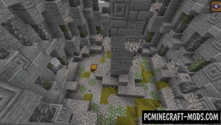 Fossils to Dungeon Data Pack For Minecraft 1.14.1