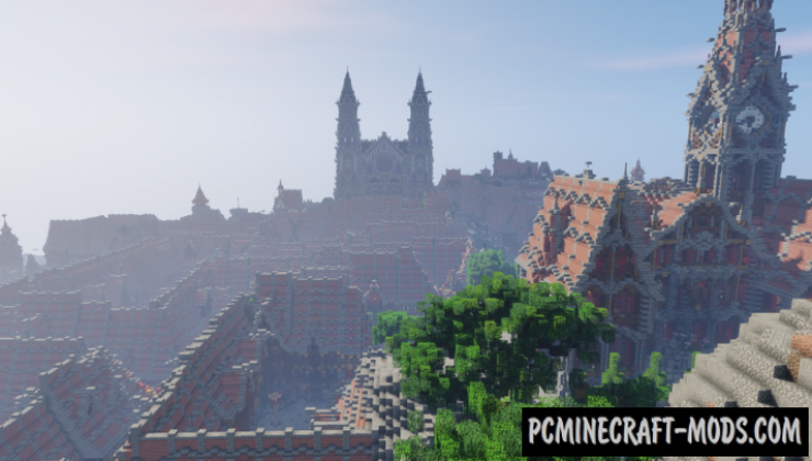 Drachenfels Map For Minecraft