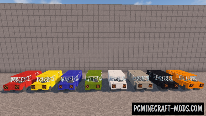 Car Data Pack For Minecraft 1.14.1