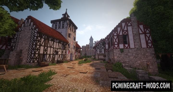 Eirenwald Castle Map For Minecraft