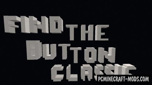 Find The Button Classic Map For Minecraft