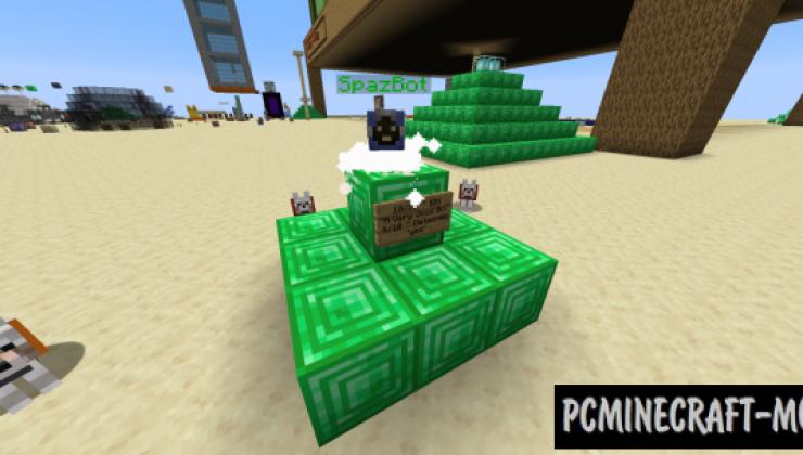 SpazBot Data Pack For Minecraft 1.14