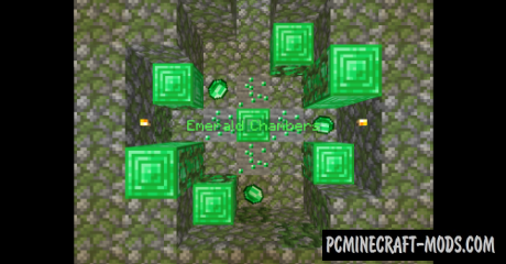 Emerald Chambers Map For Minecraft
