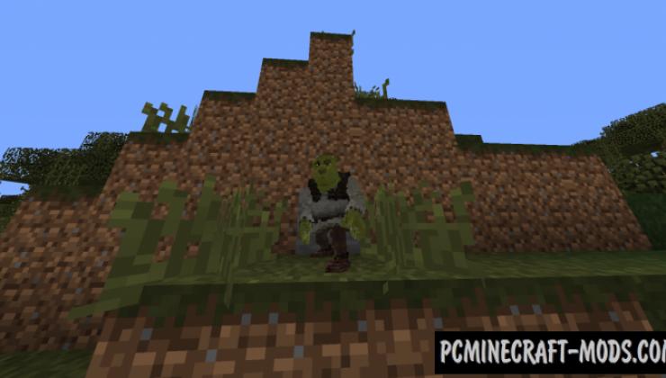 Shrek Data Pack For Minecraft 1.14.1, 1.13.2
