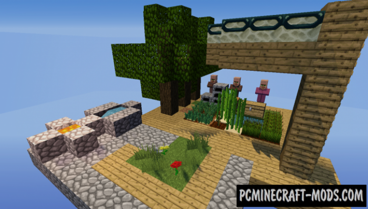 SkyBlock by RageGrief Map For Minecraft