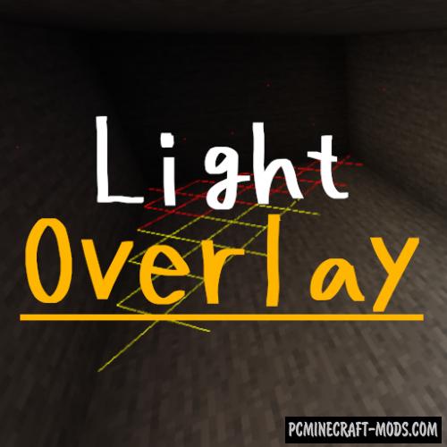 Light Overlay - HUD, Tweak Mod For Minecraft 1.16.5, 1.16.4