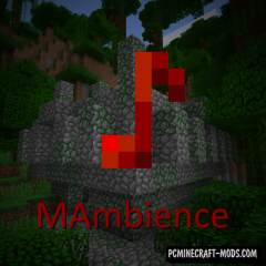 MAmbience - New Weather Sounds Mod For MC 1.16.5, 1.15.2