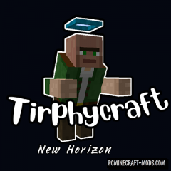 Tirphycraft - Dimensions, Mobs Mod For MC 1.15.2, 1.12.2
