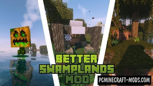 Traitor's Better Swamplands - Creatures Mod MC 1.15.2, 1.14.4, 1.12.2