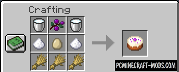 More Berries - Food Mod For Minecraft 1.16.5, 1.16.4