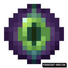 Blinking Ender Eyes Resource Pack For Minecraft 1.15.1, 1.14.4