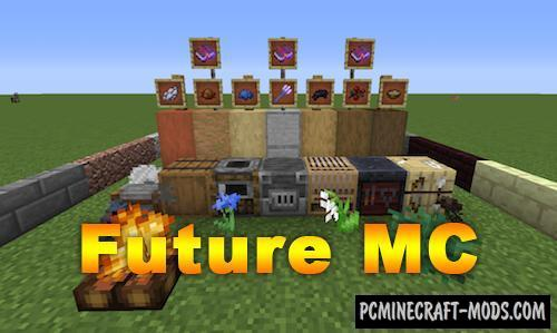 Future MC - New Blocks, Tools Mod For Minecraft 1.15.2, 1.12.2