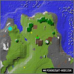 Mappy - Info HUD Mod For Minecraft 1.15.2, 1.14.4