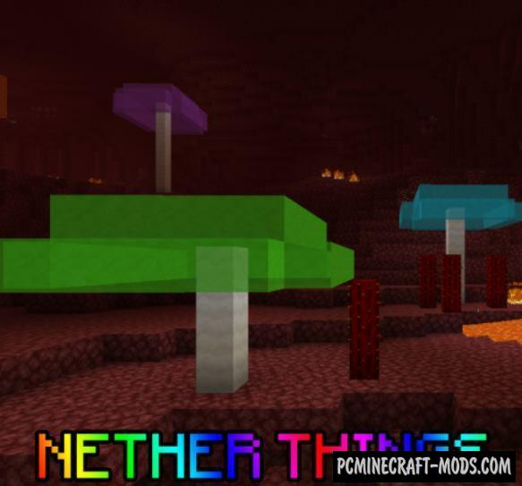 Nether Things - New Ores Mod For Minecraft 1.14.4, 1.14