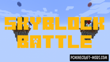 SkyBlock Battle Map For Minecraft