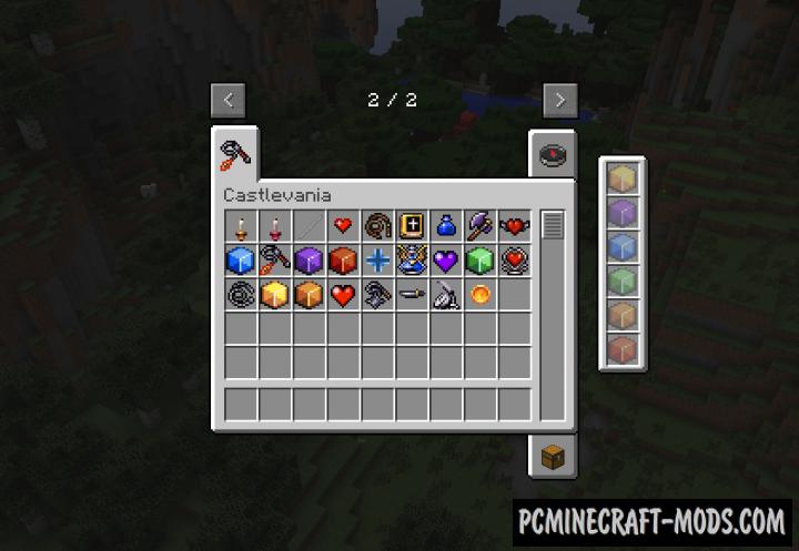 Super Castlevania Mod For Minecraft 1.7.10
