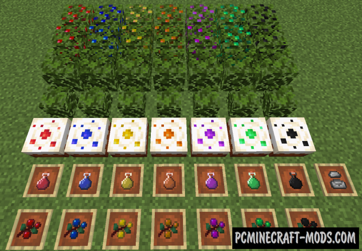 More Berries Mod For Minecraft 1.14