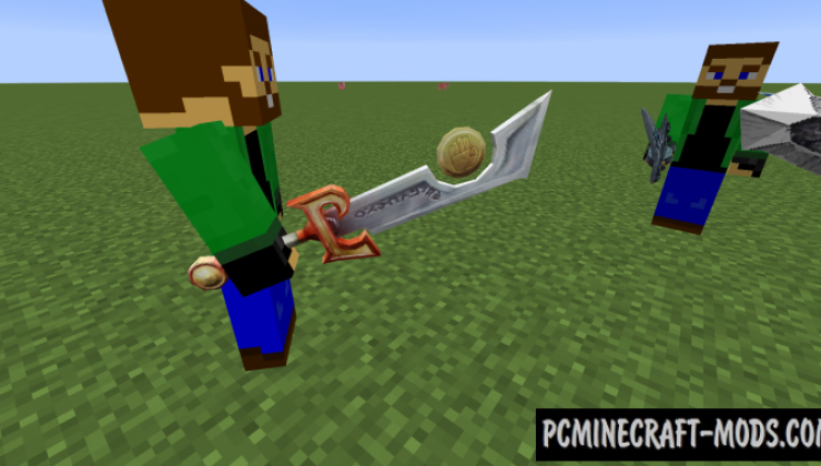World of Warcraft - Weapons Mod For Minecraft 1.15.2, 1.14.4