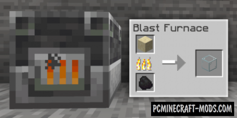 Blast Furnace Extended Data Pack For Minecraft 1.14.1, 1.14