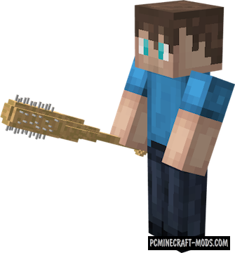 DGWeapons - New Melee Guns Mod For Minecraft 1.12.2