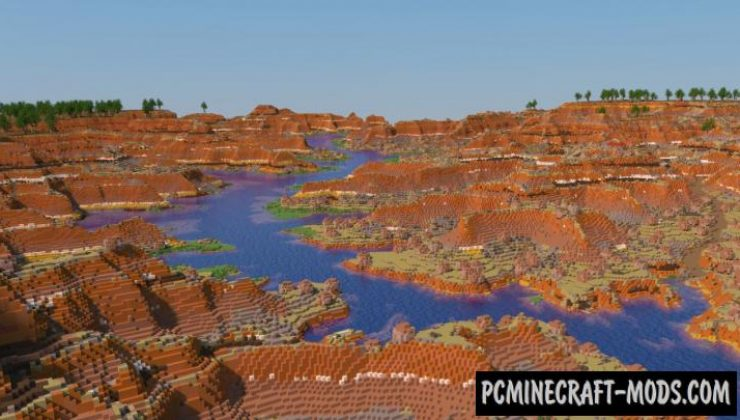 The Grand Canyon Map For Minecraft
