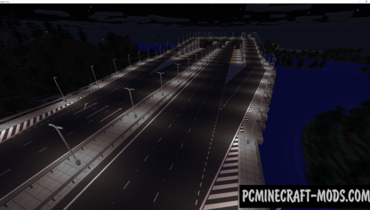 Fureniku's Roads - Decorative Mod For Minecraft 1.12.2