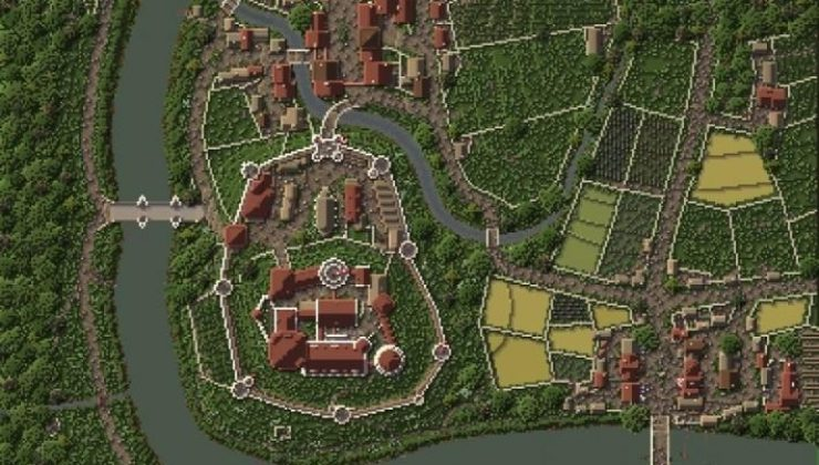 Eirenwald Castle Map For Minecraft