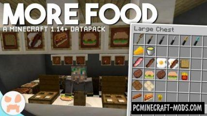 More Food Data Pack For Minecraft 1.14.1