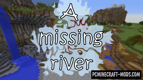 A Missing River Map For Minecraft
