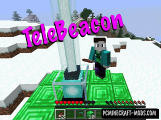 TeleBeacon Data Pack For Minecraft 1.14.1