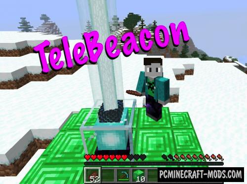 TeleBeacon Data Pack For Minecraft 1.14.1