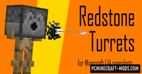 Redstone Turrets Data Pack For Minecraft 1.14.1