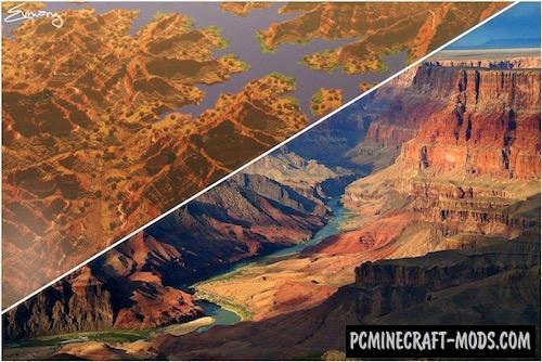 minecraft grand canyon seed