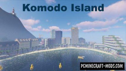 Komodo Island Map For Minecraft