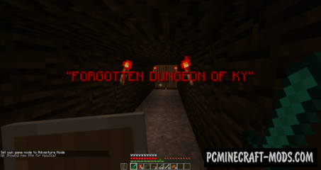 The Forgotten Dungeon Of Ky Map For Minecraft