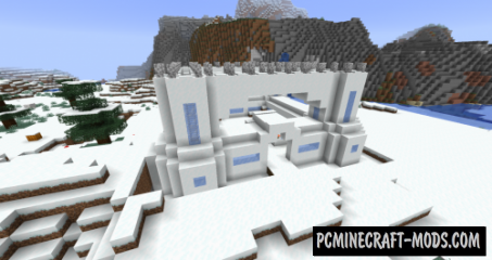 Frosty Fortresses Data Pack For Minecraft 1.14.2