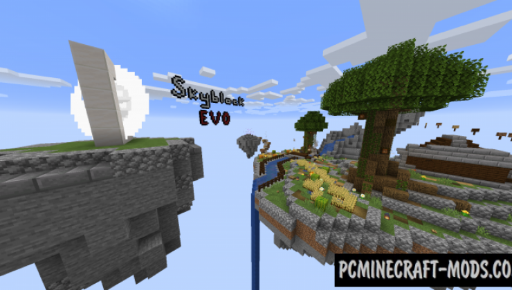 Skyblock Evo Map For Minecraft