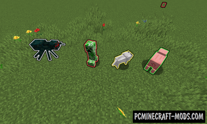 Mob Detection Data Pack For Minecraft 1.15.2, 1.14.4