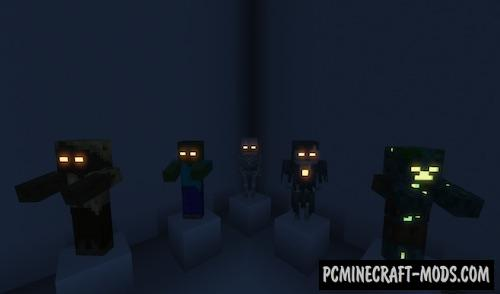 Pablo's Emissive Mobs Resource Pack For Minecraft 1.14.2