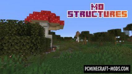 Mo Structures Data Pack For Minecraft 1.14