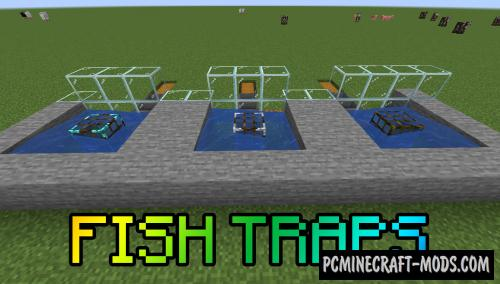Fish Traps Mod For Minecraft 1.16.5, 1.15.2, 1.14.4