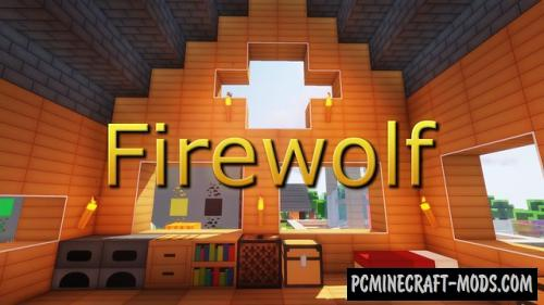 Firewolf 128x HD 3D Resource Pack For Minecraft 1.15.2, 1.14.4