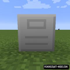 Storage Cabinet - Tech Block Mod For MC 1.16.1, 1.14.4, 1.12.2