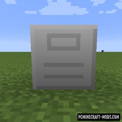 Storage Cabinet - Tech Block Mod For MC 1.16.5, 1.12.2