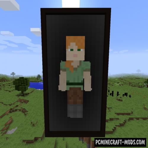 The Magic Mirror - Decor Mod MC 1.16.5, 1.16.4, 1.12.2
