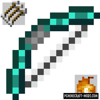 Extra Bows - New Weapon Mod For Minecraft 1.16.5, 1.12.2