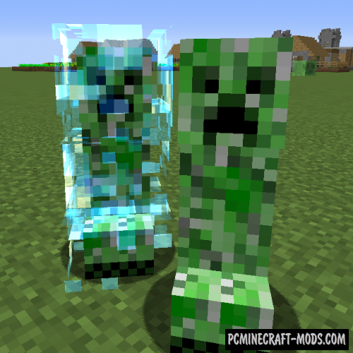 Naturally Charged Creepers Mod For Minecraft 1.16.5, 1.12.2